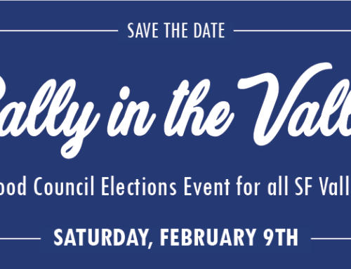 Rally in the Valley Neighborhood Council Elections Event February 9th