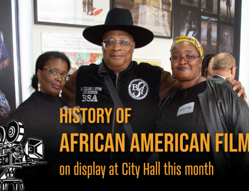 History of African American Film on display at City Hall this month