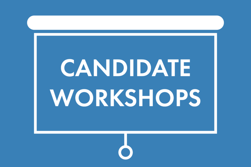 candidate workshops for the 2019 Neighborhood Council elections