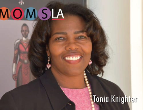 MomsLA Features Tonia Knightner