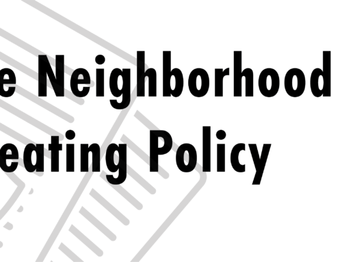 Neighborhood Council Board Seating Policy