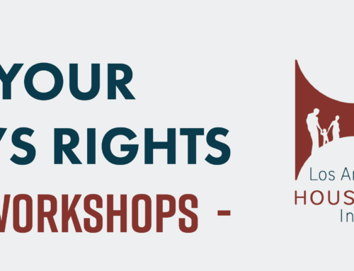 Renters Rights Workshops: Learn Your Rights as a Tenant (May 2019)