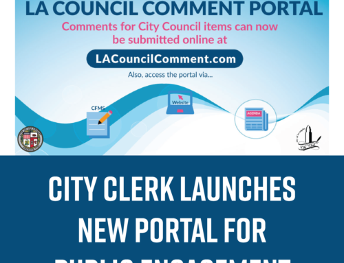 City Clerk Launches New Portal to Submit Public Comments