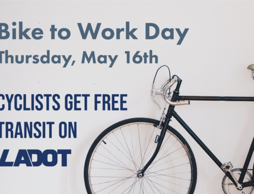 Cyclists Get Free Transit on LADOT Thursday May 16th for Bike to Work Day