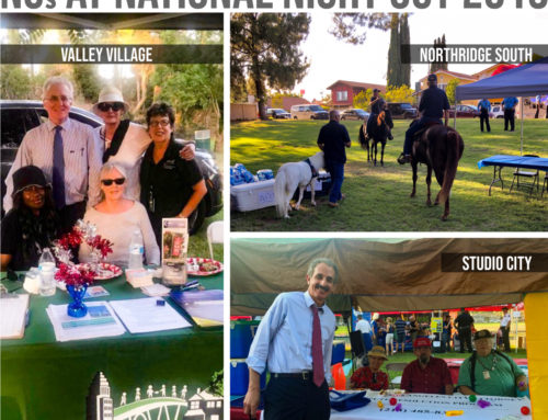 NCs Partner with LAPD for National Night Out 2019