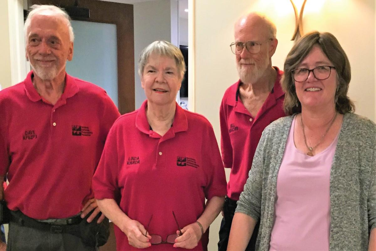 SoCalPrep board members with earthquake expert Dr Lucy Jones